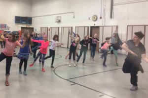 Lincoln Elementary Participates in Health Jam
