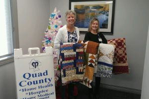 Quilts Donated to Hospice
