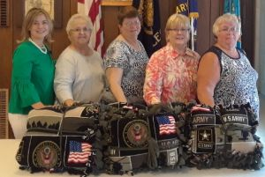 Blankets Donated to Hospice for Vets