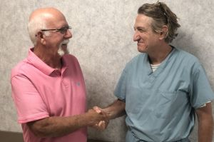 Scroggins Thanks PCH for Saving his Life