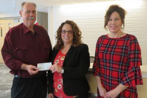 Donation to PCH Building Project