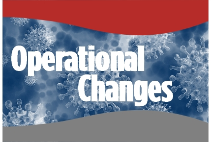 PCH Operational Changes Due to COVID-19